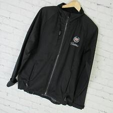Cadillac Jacket Womens Medium M Black Soft Shell Full Zip By Elevate