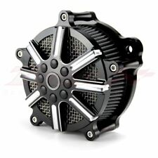 Flower CNC Cut Air Cleaner Intake For Harley Touring Filter Road King FLHR 08-16