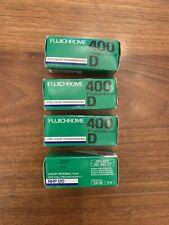 RARE 4 Rolls Fujichrome 120mm Vintage Film Cold Stored