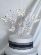 Cake Topper Decoration Butterflies 10th 16th 18th 21st 30th 40th 50th 60th 70th