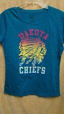 Rag n Stitch DAKOTA CHIEFS Teal Green Dakota T-Shirt Womens Size XL NEW