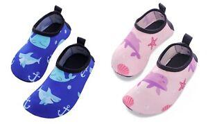 Swimbubs Kids Water Shoes Baby Girls Swim Socks Toddler Aqua Boys Beach Shoes