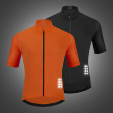WOSAWE Mens Cycling Jersey Half Sleeve Bike/Bicycle top jersey Short Sleeves