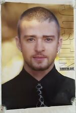 "RaRe. vintage Justin Timberlake Nsync poster 24x34"" band music pop 90s (2003)"