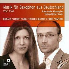 MUSIK FR SAXOPHON AUS DEUTSCHLAND, 1952-1969 USED - VERY GOOD CD