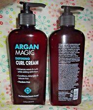 Lot of 2 Argan Magic Defining Curl Cream 7.5 oz. Each Moroccan Beauty Secret