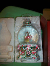 Waterford Holiday Heirloom Musical Snow Globe #137372