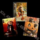 Avanti funny Happy Halloween greeting cards-KIDS-SET OF 3- new SHIPS w/TRACKING! photo