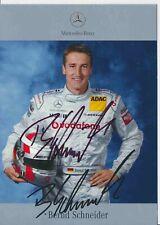 Bernd Schneider  DTM   Mercedes 2003 Autogrammkarte original signiert 384878