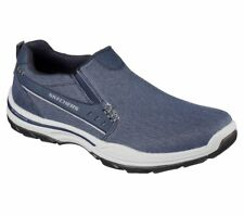 New Mens Skechers Skech Air Elment Legon Shoe Style 64993 Navy 126I dr