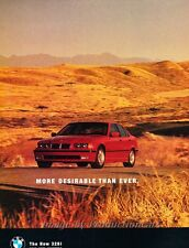1996 BMW 328i Leopard 2-page  - Original Advertisement Print Car Ad J457