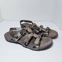 Vionic Women's Amber Orthaheel Sandal Brown Size 10
