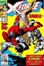 X-FORCE #15 - Marvel Comics - (Cable vs Deadpool)