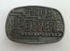 Marantz 25th Anniversary True Power Belt Buckle