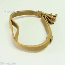 British Army WW1 Cavalry Buff Leather Knot -  Original 1918