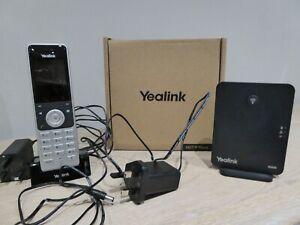 Yealink W60P Cordless DECT IP Phone Bundle (W56H Handset & W60B Base station).