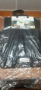 BMW E70 X5 BLACK FACTORY CARPET FLOOR MATS OEM NEW 82110439409