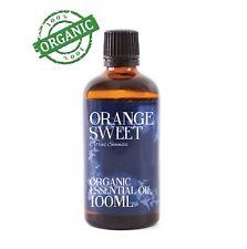 Mystic Moments | Orange Sweet Organic Essential Oil - 100ml (CO100ORANSWEE)