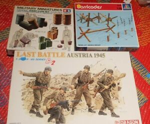 Lot Of 3 Mixed Brand 1/35 Scale German Figures And Accessories.