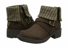 Size 4 ROCKET DOG Womens Shoe Boots Ankle Boots Knee Brown NEW GENUINE