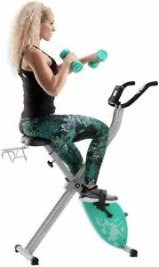 CADENCE By Proform Unisex X-Bike Elite Teal Foldable, Turquoise