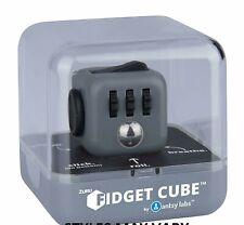 ZURU Fidget Cube Gray & BLACK Antsy Labs The Original Buttons Spinner GENUINE