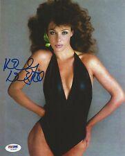 Kelly LeBrock Signed Weird Science 8x10 Photo PSA/DNA COA Cosmopolitan Magazine