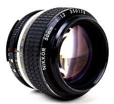 Nikon Nikkor 50mm 1:1.2