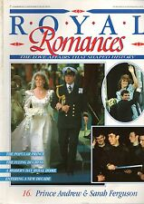 Royal Romances 16: Prince Andrew & Sarah Ferguson (partwork magazine)