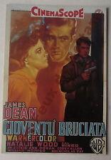 Carte postale Film Gioventu Bruciata James Dean , Nathalie Wood    postcard