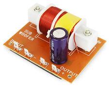 Frequenzweiche für Subwoofer, Frequenz Weiche Bass, 100/200 Wattm 12 dB, 4-8 Ohm