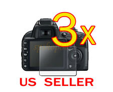 3x Clear LCD Screen Protector Guard Cover Film For Nikon D3100 Camera