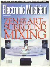 ELECTRONIC MUSICIAN MAGAZINE SURROUND MIXING MUSIC NOTATION YAMAHA A5000 RARE