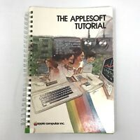 Vtg Applesoft Tutorial by Apple Computer MANUAL Product # A2L0018 030-0044-D