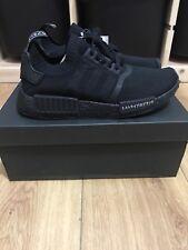 new styles 1acb2 a9a74 Adidas NMD R1 Primeknit Japan Triple Black - UK 5.5