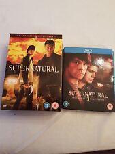 Supernatural: Complete Season 1 Box Set (DVD) & Complete Season 3 Bluray