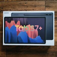 🔥NEW SEALED🔥 Samsung Galaxy Tab S7+ Plus 128GB Wi-Fi 12.4 Mystic Black S-Pen