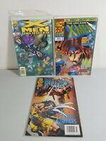 3 Xmen Comic Lot Unlimited #18 Uncanny #350 Foil Wolverine #103