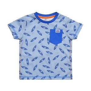 Esprit Baby Boy Blue T-Shirt Enjoy Summer Surfing motif Size 18 month