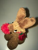 "Bestever Red Nosed Reindeer Standing 9"" Plush Stuffed Animal"