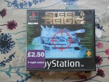Steel Reign (Sony PlayStation 1, 1998) - Rental Version