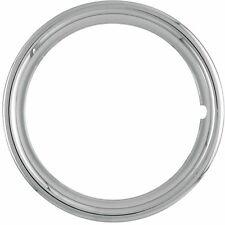"17"" NEW Plastic Chrome Beauty Rings Standard 2"" TRIM RING Measures 1 3/4"""