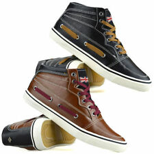 Synthetic Leather Hi Tops Shoes for Men