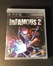 inFamous 2 [ First Print Black Label ]  (SPS3) NEW
