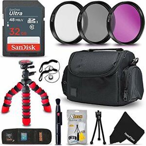 58mm PRO Accessories Kit for f/ Canon EOS Rebel T7i
