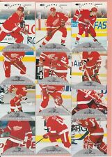 Red Wings Team Set 1996-97 1997-98 2001-02 all years 50+ picks extra shipping 25