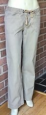Women's The North Face NOBEL STRETCH ROLLUP PANTS Natural Tan Size 8