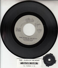 """CULTURE CLUB  Time (Clock Of The Heart) 7"""" 45 record + juke box title strip NEW"""