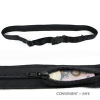 Travel Security Money Ticket Passport Holder Waist Belt Pouch Bag Wallet Purse