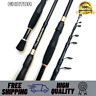Carbon Fiber Telescopic Fishing Rod Portable Spinning Rod Travel Compact Reels